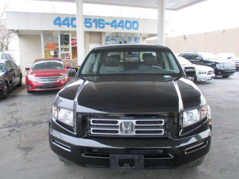 2008 Honda Ridgeline for sale at Elite Auto Sales in Willowick OH