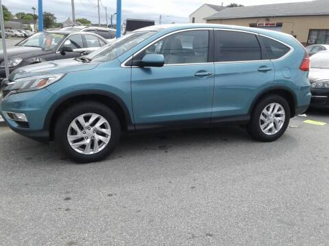 2015 Honda CR-V for sale at Nelsons Auto Specialists in New Bedford MA