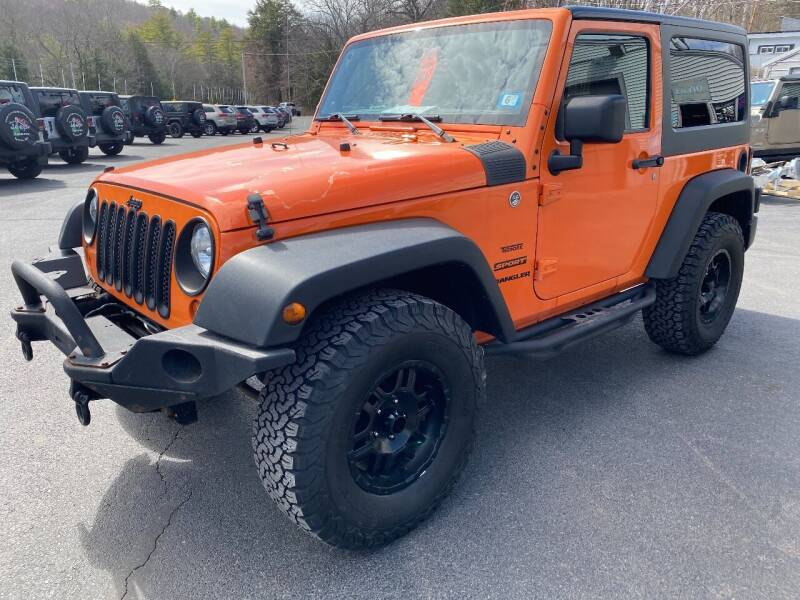 2013 Jeep Wrangler for sale at Route 4 Motors INC in Epsom NH