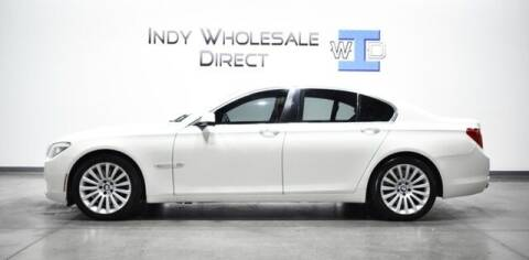 2011 BMW 7 Series for sale at Indy Wholesale Direct in Carmel IN