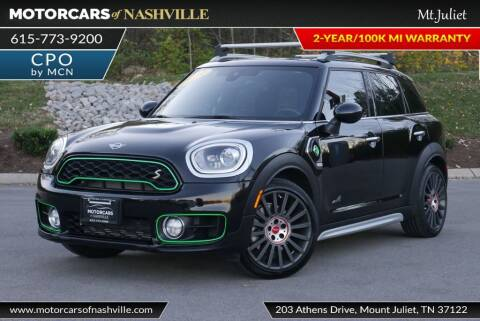 2019 MINI Countryman Plug-in Hybrid for sale at MotorCars of Nashville in Mount Juliet TN