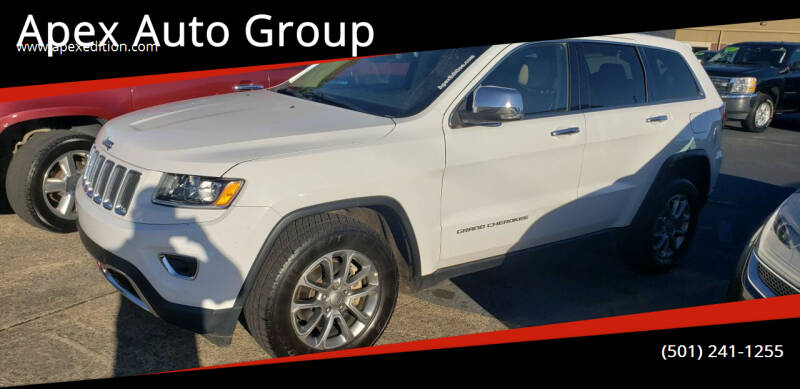 2015 Jeep Grand Cherokee for sale at Apex Auto Group in Cabot AR