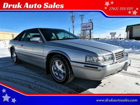 2001 Cadillac Eldorado for sale at Druk Auto Sales in Ramsey MN
