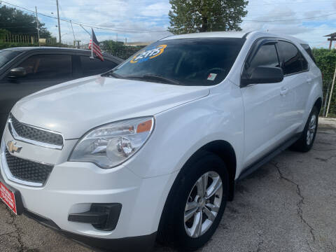2013 Chevrolet Equinox for sale at FAIR DEAL AUTO SALES INC in Houston TX
