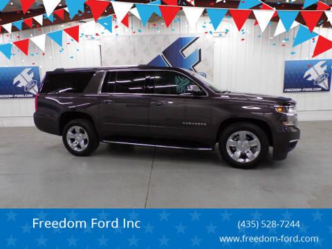 2017 Chevrolet Suburban for sale at Freedom Ford Inc in Gunnison UT