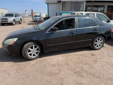 2004 Honda Accord for sale at PYRAMID MOTORS - Fountain Lot in Fountain CO