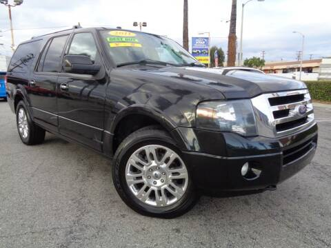 2011 Ford Expedition EL for sale at ALL STAR TRUCKS INC in Los Angeles CA