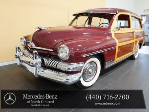 1951 Mercury WOODY WAGON for sale at Mercedes-Benz of North Olmsted in North Olmstead OH