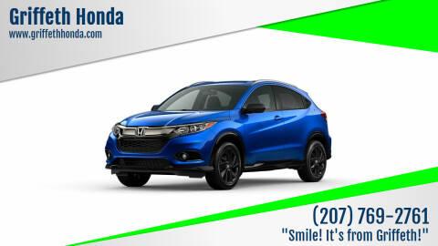 2021 Honda HR-V for sale at Griffeth Honda in Presque Isle ME