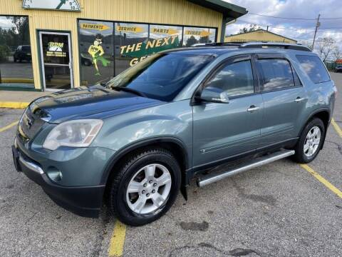 2009 GMC Acadia for sale at RPM AUTO SALES in Lansing MI