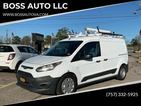 2014 Ford Transit Connect Cargo for sale at BOSS AUTO LLC in Norfolk VA