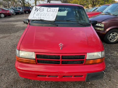 1995 Dodge Caravan for sale at Continental Auto Sales in White Bear Lake MN