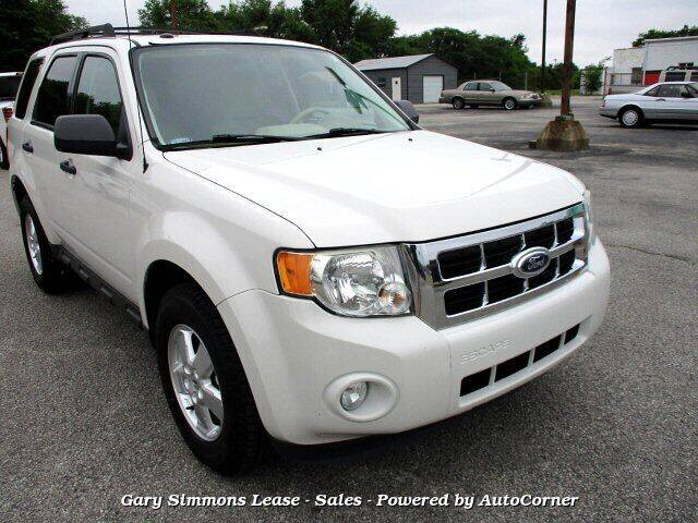 2012 Ford Escape for sale at Gary Simmons Lease - Sales in Mckenzie TN