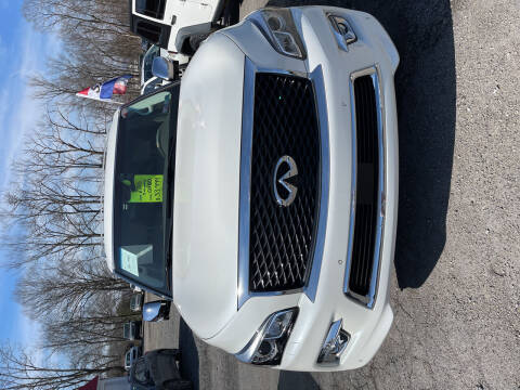 2016 Infiniti QX80 for sale at Advantage Auto Sales in Johnstown PA