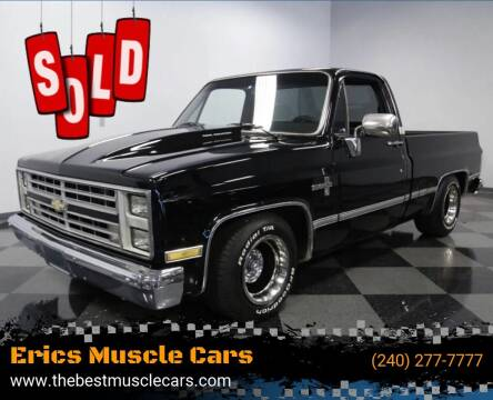 1985 Chevrolet C/K 10 Series for sale at Erics Muscle Cars in Clarksburg MD