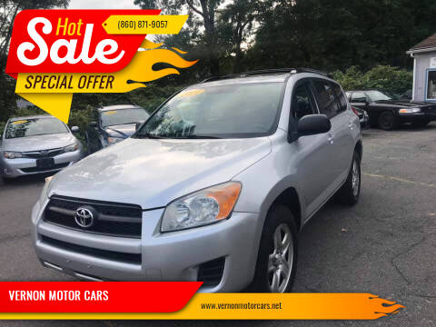 2011 Toyota RAV4 for sale at VERNON MOTOR CARS in Vernon Rockville CT