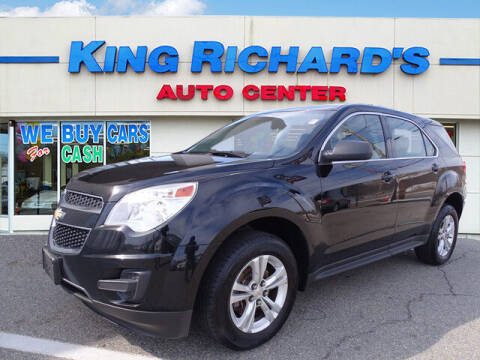 2015 Chevrolet Equinox for sale at KING RICHARDS AUTO CENTER in East Providence RI