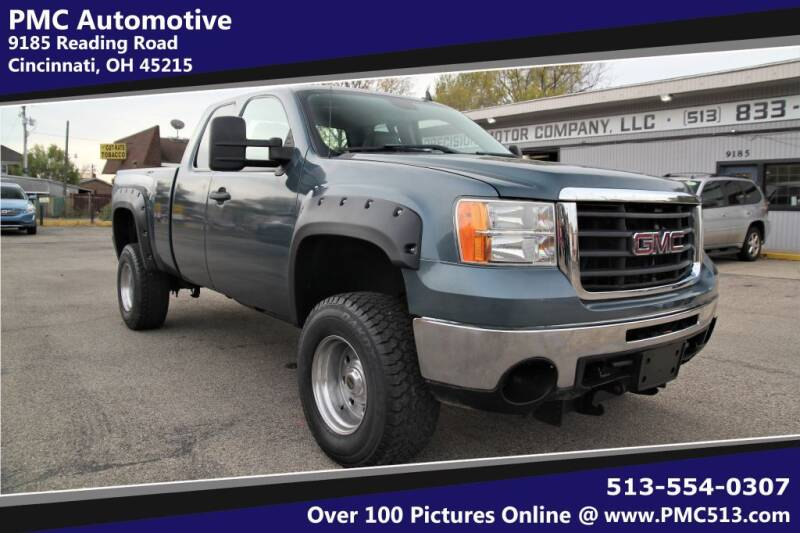 2009 GMC Sierra 2500HD for sale at PMC Automotive in Cincinnati OH