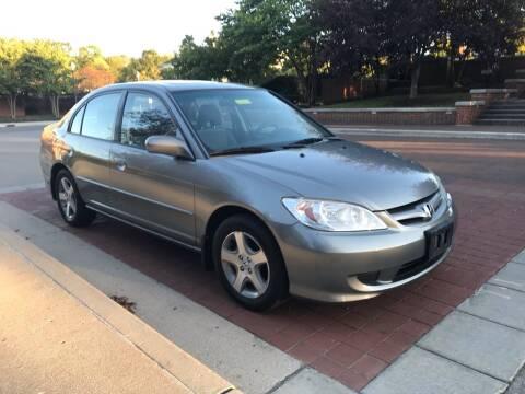 2005 Honda Civic for sale at Third Avenue Motors Inc. in Carmel IN