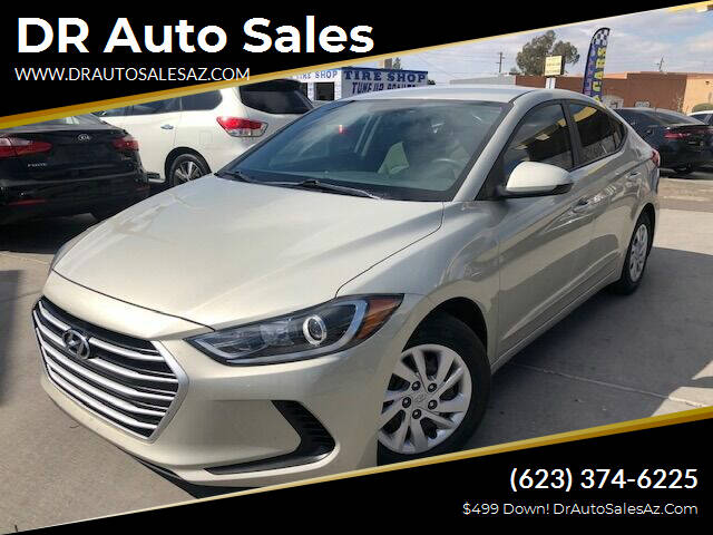 2017 Hyundai Elantra for sale at DR Auto Sales in Glendale AZ