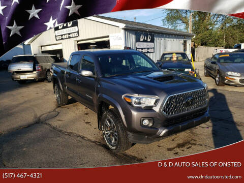 2018 Toyota Tacoma for sale at D & D Auto Sales Of Onsted in Onsted MI
