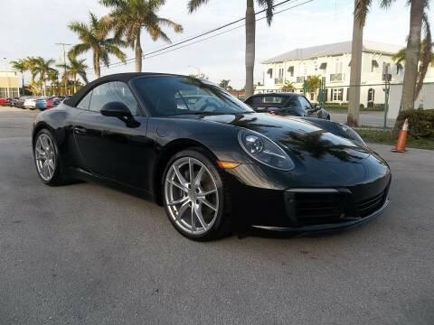 2018 Porsche 911 for sale at DELRAY AUTO MALL in Delray Beach FL