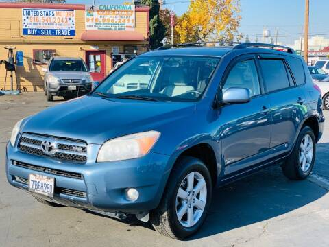 2007 Toyota RAV4 for sale at United Star Motors in Sacramento CA