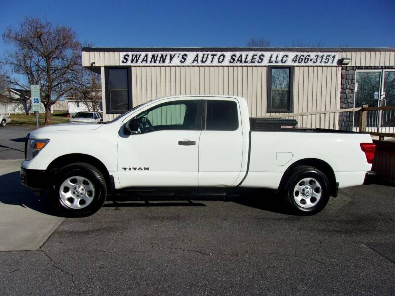 2018 Nissan Titan for sale at Swanny's Auto Sales in Newton NC