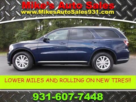 2014 Dodge Durango for sale at Mike's Auto Sales in Shelbyville TN