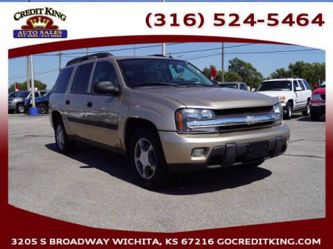2005 Chevrolet TrailBlazer EXT for sale at Credit King Auto Sales in Wichita KS