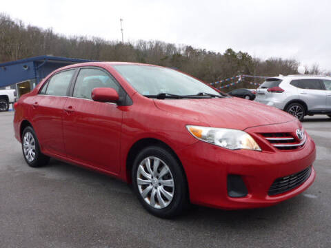 2013 Toyota Corolla for sale at Viles Automotive in Knoxville TN