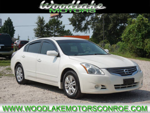 2012 Nissan Altima for sale at WOODLAKE MOTORS in Conroe TX