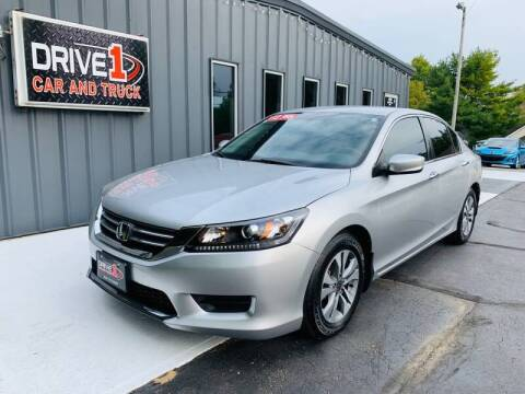 2015 Honda Accord for sale at Drive 1 Car & Truck in Springfield OH