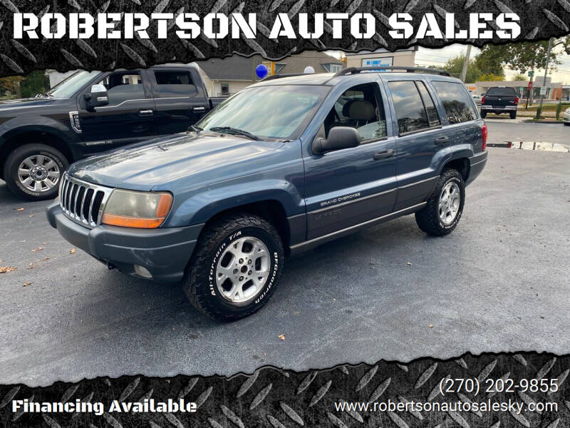 2002 Jeep Grand Cherokee for sale at ROBERTSON AUTO SALES in Bowling Green KY
