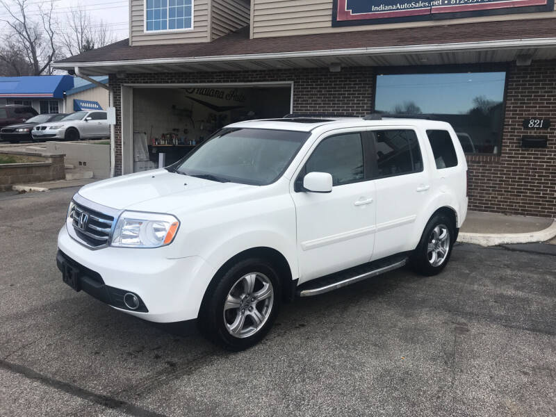 2012 Honda Pilot for sale at Indiana Auto Sales Inc in Bloomington IN