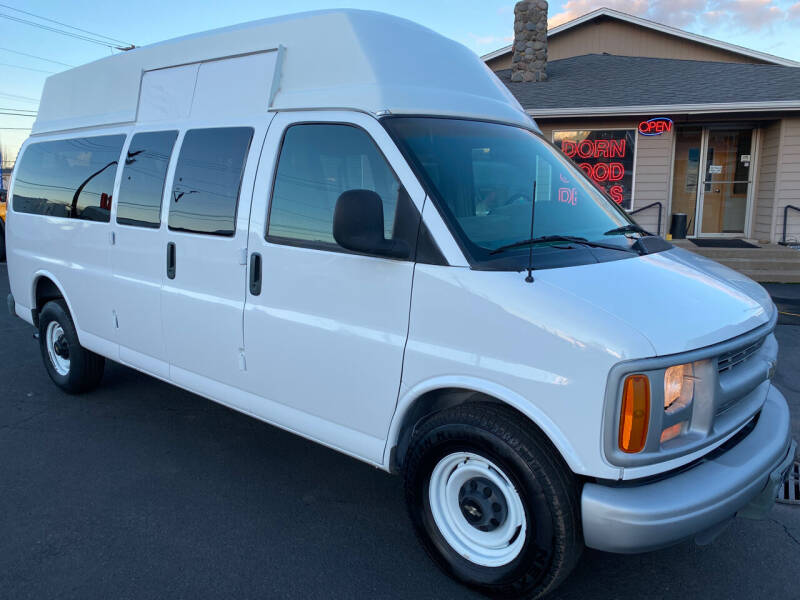 1998 Chevrolet Express Passenger for sale at Dorn Brothers Truck and Auto Sales in Salem OR