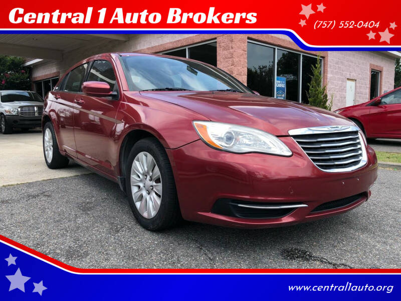 2012 Chrysler 200 for sale at Central 1 Auto Brokers in Virginia Beach VA