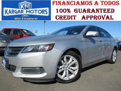 2016 Chevrolet Impala for sale at Kargar Motors of Manassas in Manassas VA