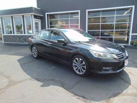 2013 Honda Accord for sale at Akron Auto Sales in Akron OH