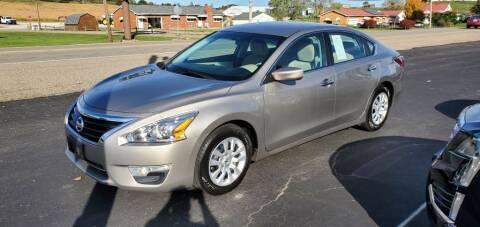 2015 Nissan Altima for sale at Gallia Auto Sales in Bidwell OH