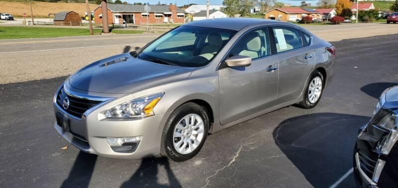 2015 Nissan Altima for sale at Gallia Auto Sales in Bidwell OH