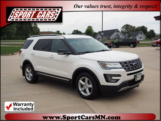 2016 Ford Explorer for sale at SPORT CARS in Norwood MN