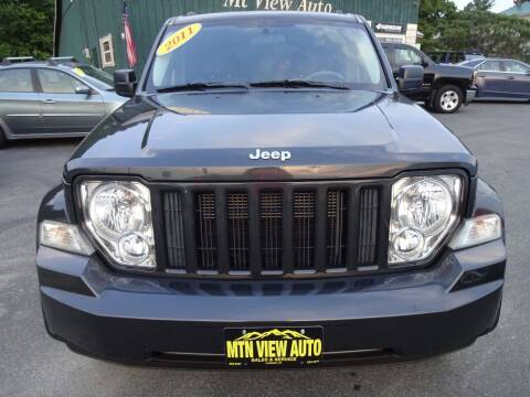 2011 Jeep Liberty for sale at MOUNTAIN VIEW AUTO in Lyndonville VT