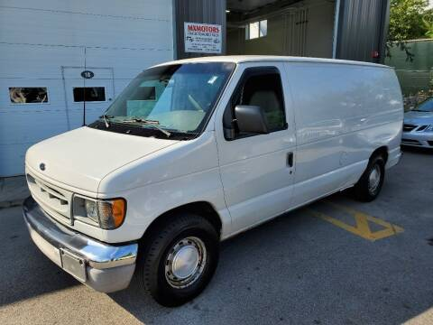 2002 Ford E-Series Cargo for sale at MX Motors LLC in Ashland MA