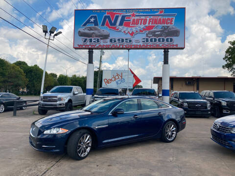 2013 Jaguar XJ for sale at ANF AUTO FINANCE in Houston TX
