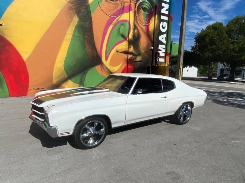 1970 Chevrolet Chevelle for sale at BIG BOY DIESELS in Ft Lauderdale FL