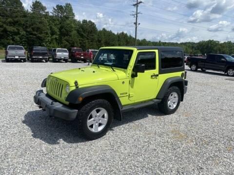 2017 Jeep Wrangler for sale at Billy Ballew Motorsports in Dawsonville GA
