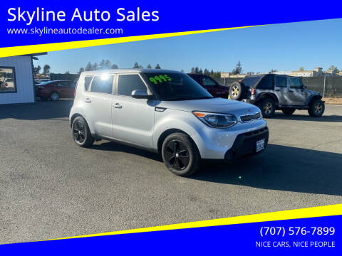2016 Kia Soul for sale at Skyline Auto Sales in Santa Rosa CA