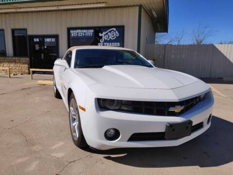 2012 Chevrolet Camaro for sale at Texas RV Trader in Cresson TX