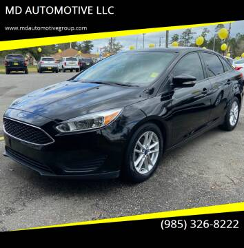 2016 Ford Focus for sale at MD AUTOMOTIVE LLC in Slidell LA
